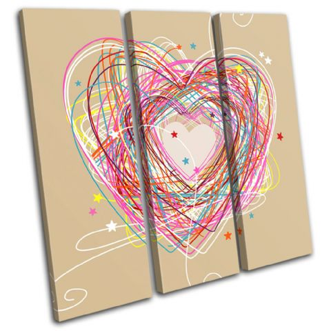 Sketch Heart Love - 13-0222(00B)-TR11-LO